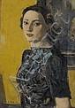 HOLY, ADRIEN (1898 - 1978) Portrait de Mélanie Magy Bondanini. 1940 Huile sur toile., Adrien Holy, Click for value
