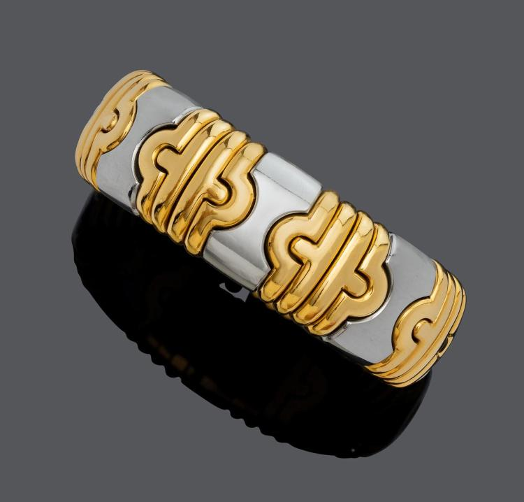 GOLD BANGLE, BY BULGARI.