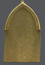 GOLD EVENING BAG, ca. 1920.