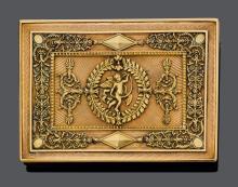 GOLD CIGARETTE CASE, probably Austria, ca. 1890.