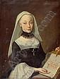 *TISCHBEIN, JOHANN HEINRICH (Haina 1751 - 1829 Eutin) Portrait einer adeligen Stiftsdame. Öl auf Leinwand. 82 x 60,2 cm., Johann Heinrich Wilhelm Tischbein, Click for value