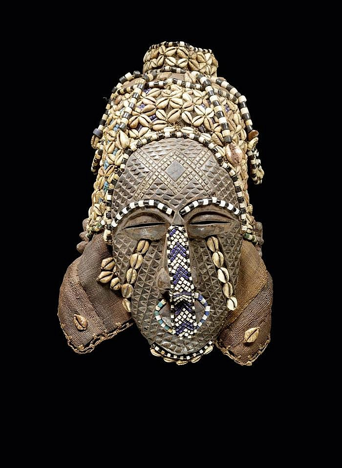TEKE FIGUR Kongo. H 43.5 cm.