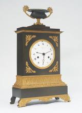 MANTEL CLOCK WITH DATE AND DAY,