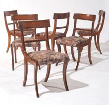 SET OF 6 CHAIRS,