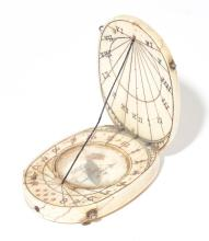 SMALL FOLDABLE SUN DIAL,