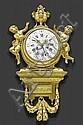 IMPORTANT CARTEL CLOCK WITH CALENDAR,Louis XVI,, Pierre Gouthiere, Click for value