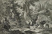 RIDINGER, JOHANN ELIAS (Ulm 1698 - 1767 Augsburg).