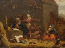 18th century follower of TENIERS, DAVID the Younger.