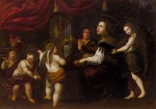 Follower from 1st half of the 17th century, of ZAMPIERI, DOMENICO called Il DOMENICHINO