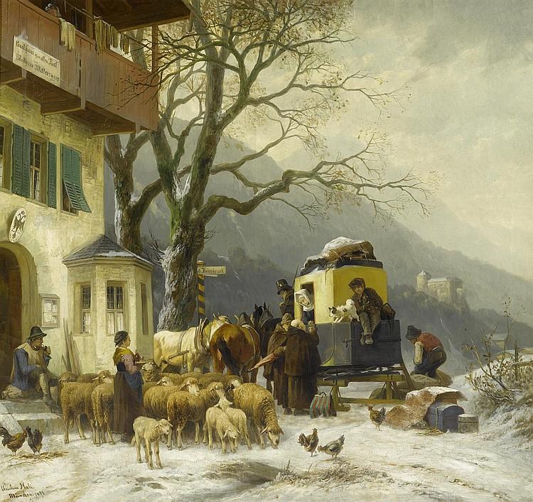 MALI, CHRISTIAN FRIEDRICH(Broekhuizen 1832 - 1906