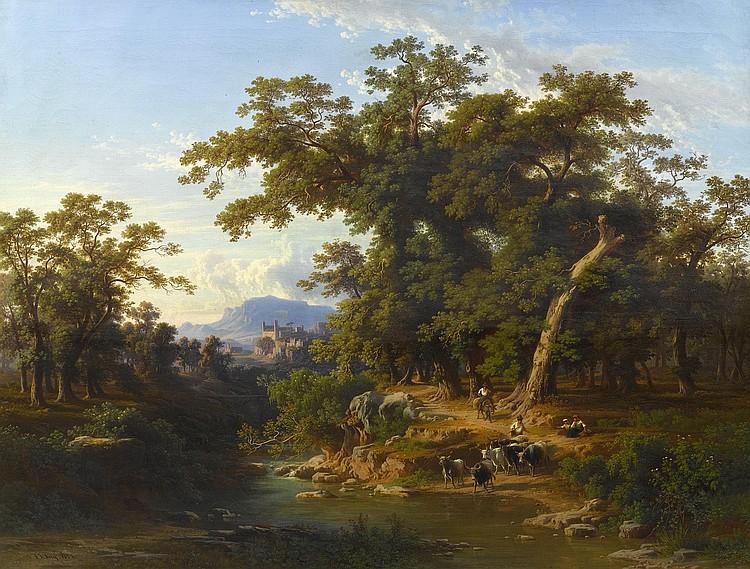 FREY, JOHANN JACOB(Basel 1813 - 1865