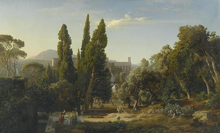 SCHIRMER, JOHANN WILHELM(Jülich 1807 - 1863
