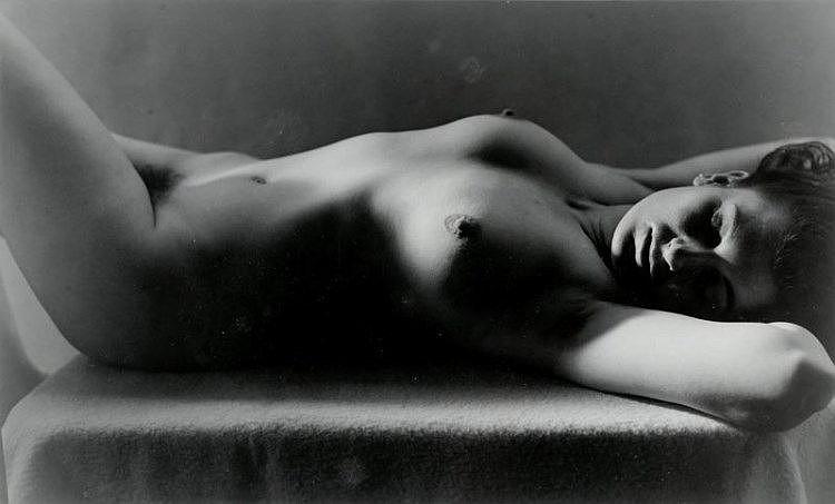 EROTICA - Auradon, Jean-Marie (1887-1958). Weiblicher Akt. Original-Photogr