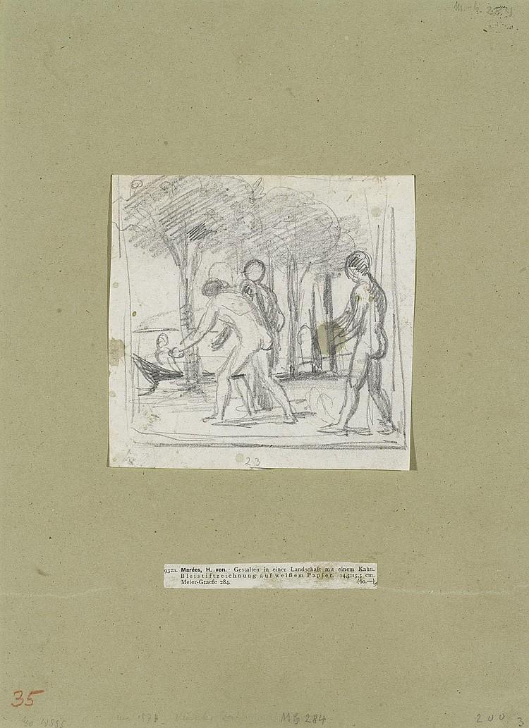 MAREES, HANS VON(Elberfeld 1837 - 1887 Rome )Young