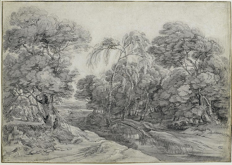 VADDER, LODEWIJK DE(1605 Brussels 1655)Wooded