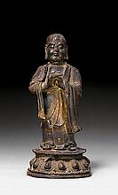 STANDING KASYAPA.China, Ming dynasty, H 20.5