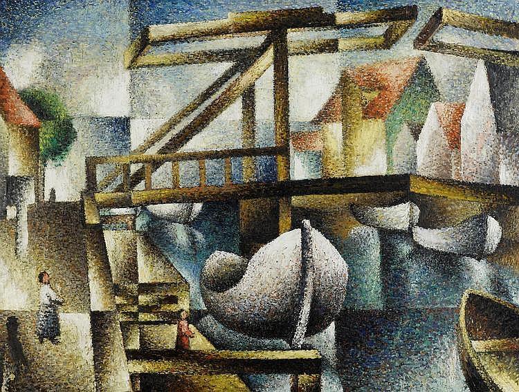 SEGAL, ARTHUR(Jassy 1875 - 1944 London)The bridge