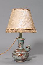 KENDI MOUNTED AS A LAMP.Japan, Edo Period, H 22