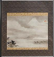 HANGING SCROLL OF THE KANO SCHOOL.Edo Period, ca.