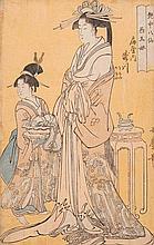 KITAGAWA UTAMARO (1750-1806). Ôban. From the