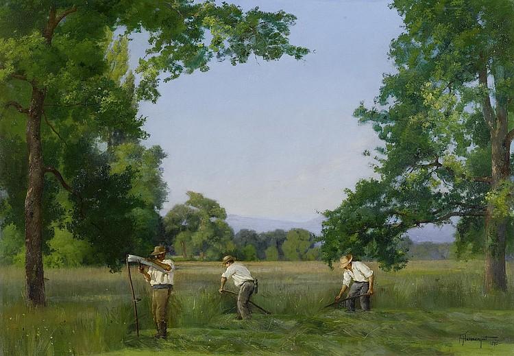 HERMANJAT, JACQUES ELIE ABRAHAM (1862 - 1932).