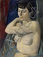 HOLY, ADRIEN (1898 - 1978). Undressed woman. 1956., Adrien Holy, Click for value