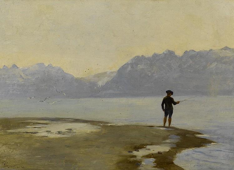 PIGUET, RODOLPHE (1840 - 1915). L'embouchure du
