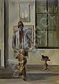 MARTIN, EUGENE LOUIS (1880 - 1954). Self portrait, Eugène (1880) Martin, Click for value