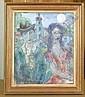 EINBECK, GEORGES Mondnacht. 1949. Tempera auf Karton. 46 x 39 cm., Georges Einbeck, Click for value