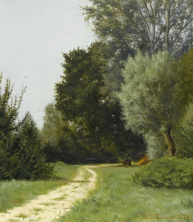 RÖTHLISBERGER, WILLIAM(Walkringen 1862 - 1943