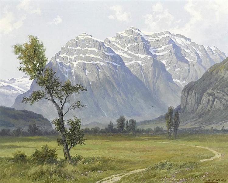 BACHMANN, EDWIN JAKOB(Zurich 1873 - 1957