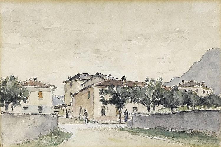 STURZENEGGER, HANS(1875 Zurich 1943)Street in