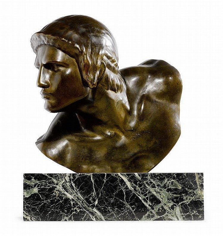 ROUX, CONSTANT.(1865 - 1942).SCULPTURE.Bronze with