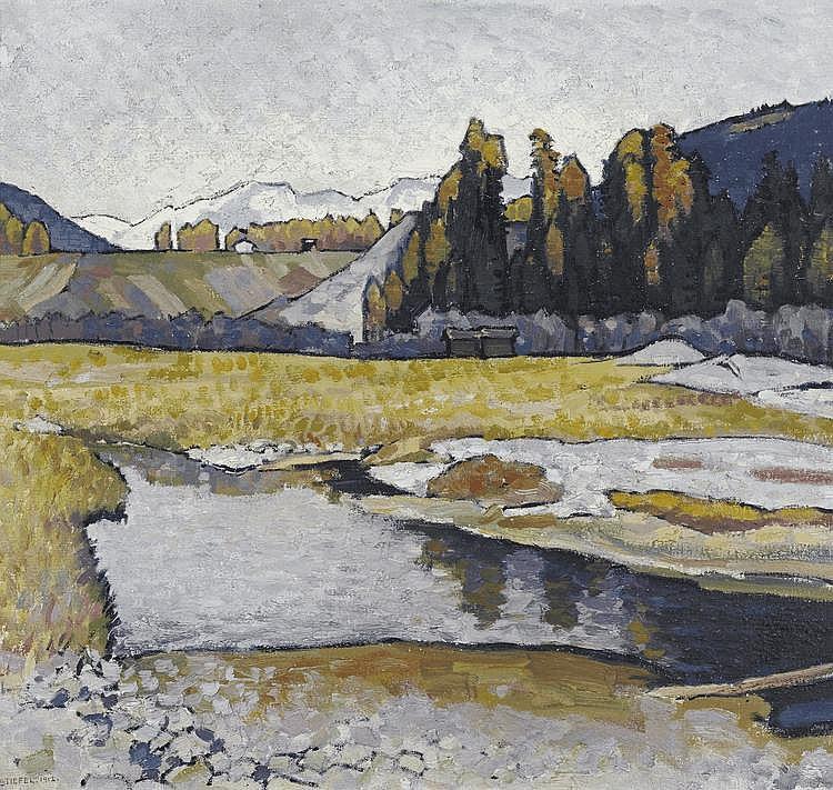 STIEFEL, EDUARD(1875 Zurich 1968)Mountain