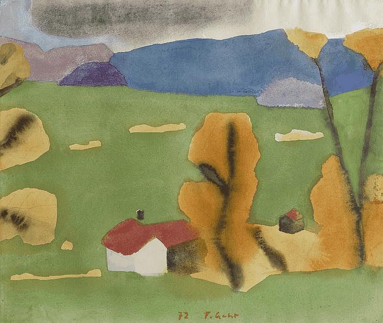 GEHR, FERDINAND(Niederglatt 1896 - 1996