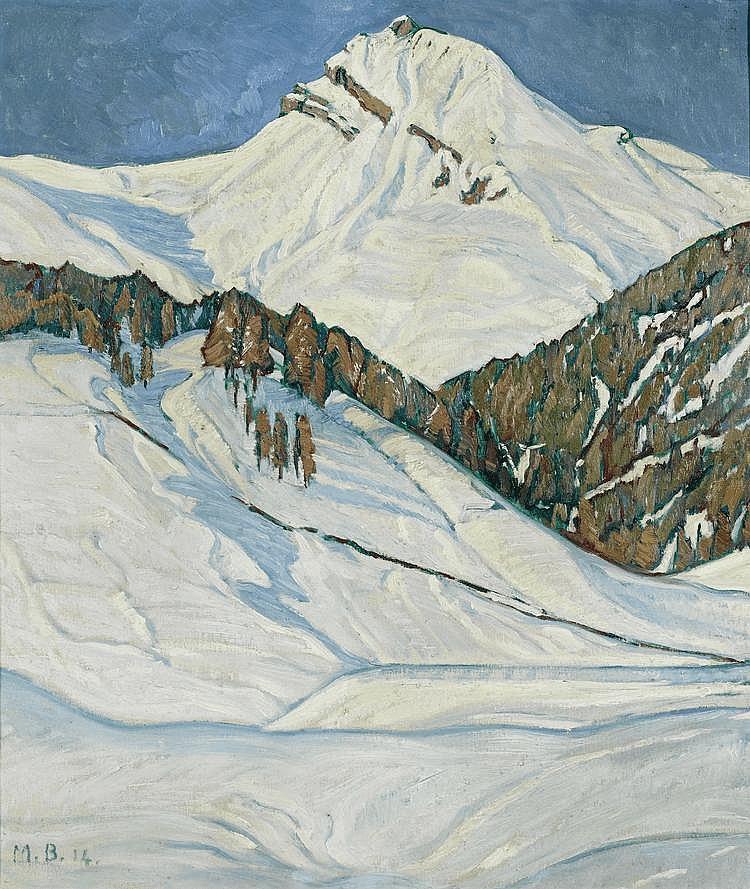 BURGMEIER, MAX(1881 Aarau 1947)Mountain landscape