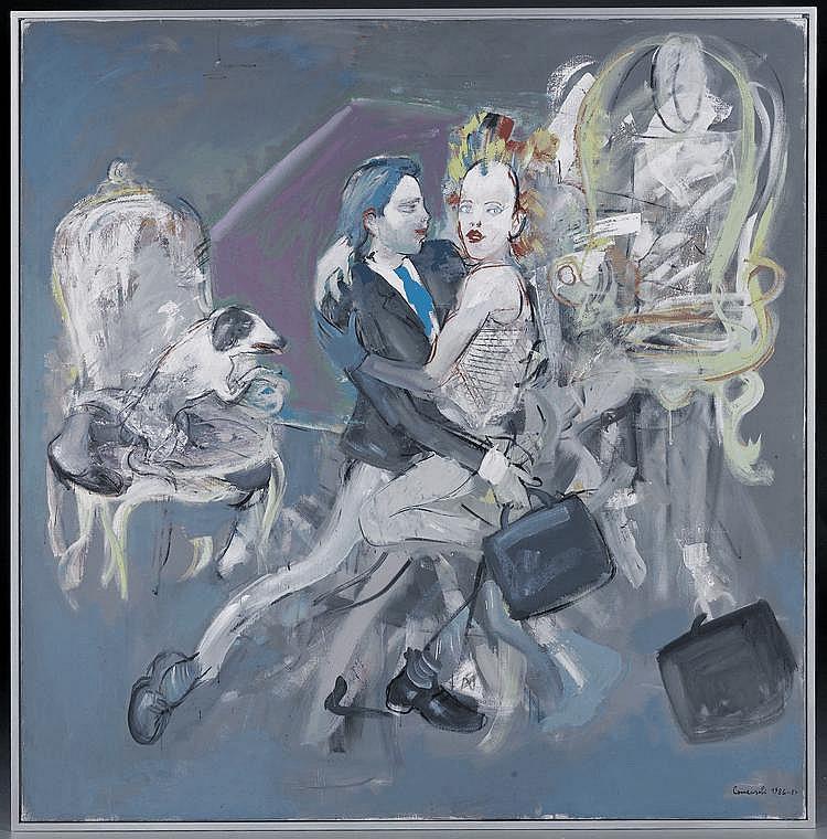 COMENSOLI, MARIO(Lugano 1922 - 1993 Zurich )Tango.