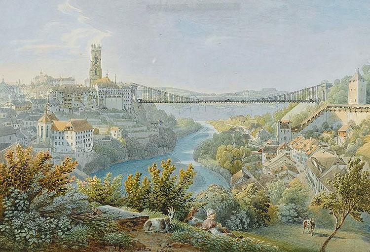 LORY, GABRIEL MATTHIAS (1784 Bern 1846). View of