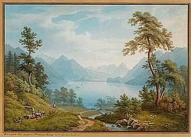 WINTERLIN, ANTON (Degerfelden 1805 - 1894 Basel).