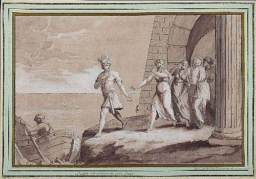 RAMBERG, JOHANN HEINRICH (1763 Hanover 1840)Dido