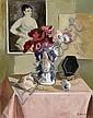 DAREL, GEORGES.(1892 - 1943).'Anémones au Renoir'., Georges Darel, Click for value
