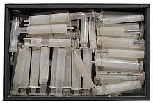 ARMAN1928 - 2005Objekt (Seringues). 1961.Glass and