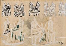 HENRY MOORE1889 - 1986Seven Studies for Family