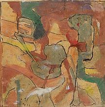 ROBERT FONTENÉ1892 - 1980Abstracte Composition. Y