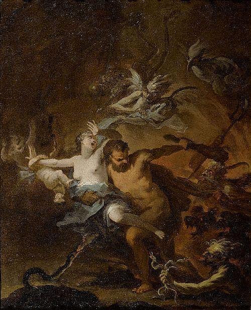 DANDINI, OTTAVIANO (1681 Florence 1740)Hercules