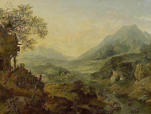 GRIFFIER, JAN the elder (Amsterdam 1645 - 1718