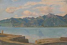 BOCION, FRANCOIS(1828 Lausanne 1890)Quai du