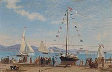 BOCION, FRANCOIS(1828 Lausanne 1890)Inauguration