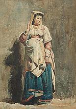 BUCHSER, FRANK(1828 Feldbrunnen 1890)Portrait of
