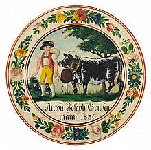 SWISS RUSTIC ART 1836(Switzerland 19th